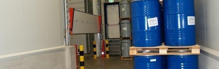Vätskespärr-kemisk-lagring